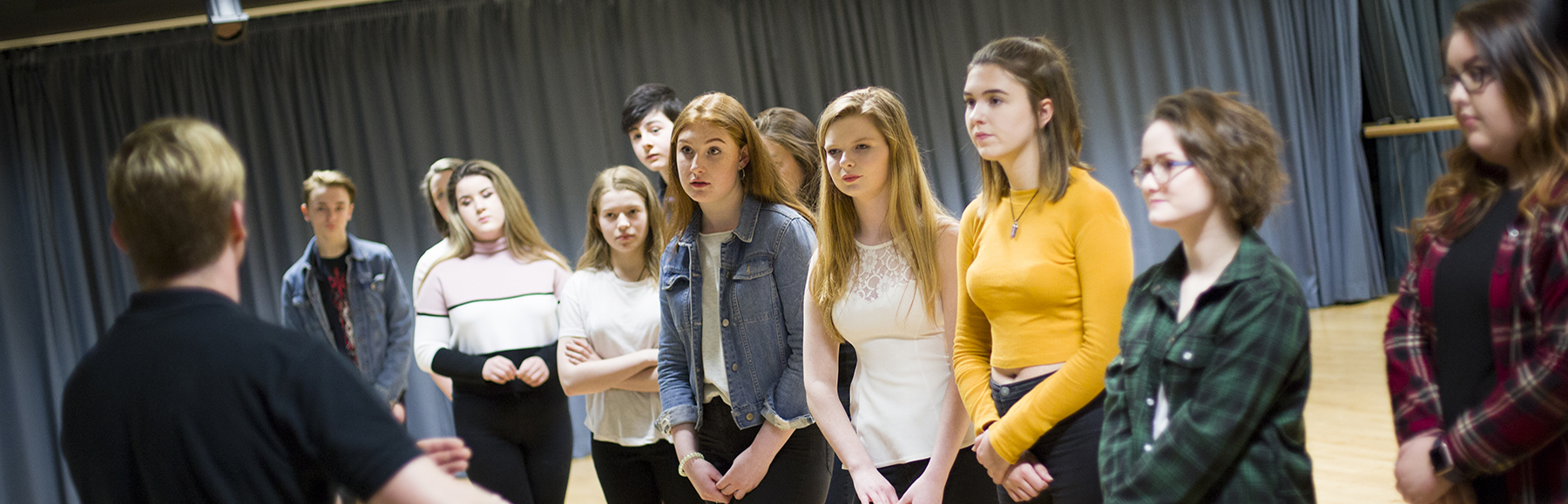 Drama lesson in Performance Studio